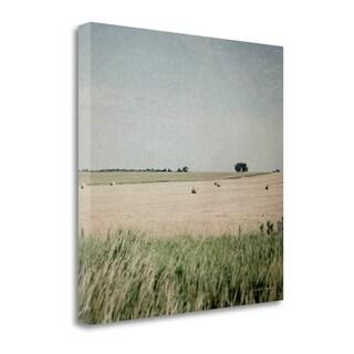 Neutral Country II Crop By Elizabeth Urquhart,  Gallery Wrap Canvas