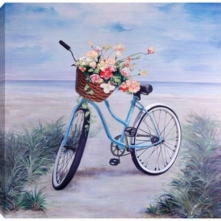 36x36 BICYCLE, Acrylic Painting on Canvas, Ready to Hang