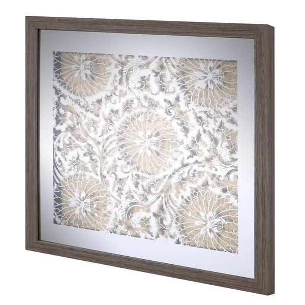 Shop 20x20 PATTERN III, Framed Mirror Art, Ready to Hang - Free ...