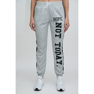 RAG Womens Active Terry Joggers - Nope, Not Today Screen https://ak1.ostkcdn.com/images/products/18212593/P24354622.jpg?impolicy=medium