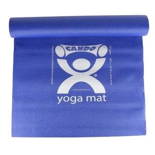 CanDo Premium Eco-Friendly Yoga Mat 68-inch x 24-inch Blue