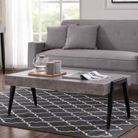 Clay Alder Home University Coffee Table-Cement