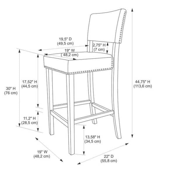 Outstanding Shop Lemont Black Cow Print Bar Stool Free Shipping Today Dailytribune Chair Design For Home Dailytribuneorg