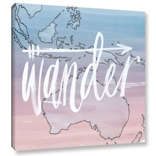 Sara Zieve Miller's World Traveler Wander, Gallery Wrapped Canvas - Multi