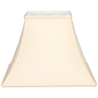 Royal Designs Square Bell Designer Lamp Shade, Eggshell, 5 x 10 x 9