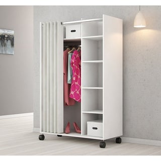 Kate And Laurel Tamworth Metal Freestanding Closet With