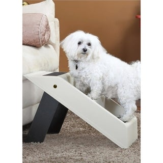 Folding Dog Stairs or Dog Steps - 3 Step Dog Ladder or Pet Stairs