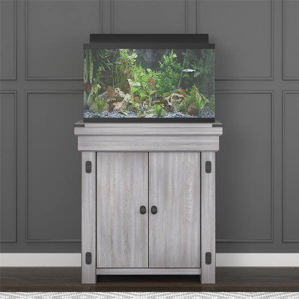 Captivating Avenue Greene Woodgate 20 Gallon Aquarium Furniture Stand