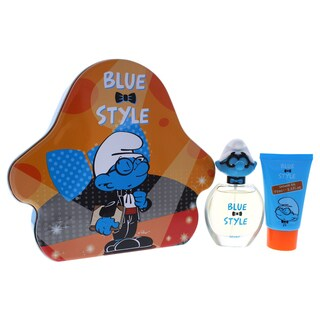 The Smurfs Blue Style Brainy Kids 2-piece Gift Set