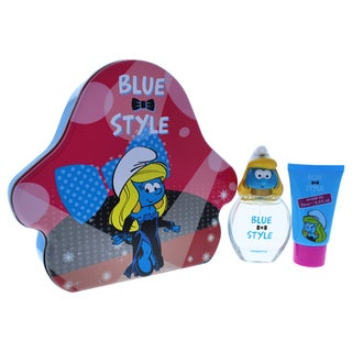 The Smurfs Blue Style Smurfette 2-piece Gift Set
