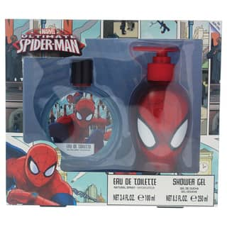 Ultimate Spider Man Marvel Kid's 2-piece Gift Set https://ak1.ostkcdn.com/images/products/18212889/P24355407.jpg?impolicy=medium