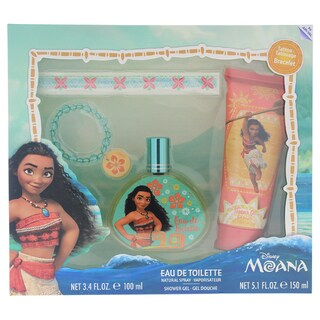 Disney Moana Kid's 4-piece Gift Set