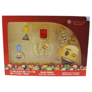 Emoji Kid's 4-piece Gift Set