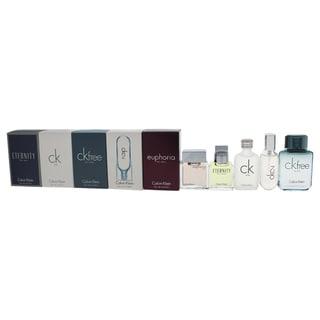 Calvin Klein Deluxe Fragrance Travel Collection Men's 5-piece Mini Gift Set