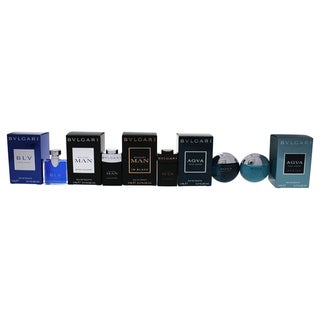 Bvlgari The Men's Gift Collection Men's 5-piece Mini Gift Set