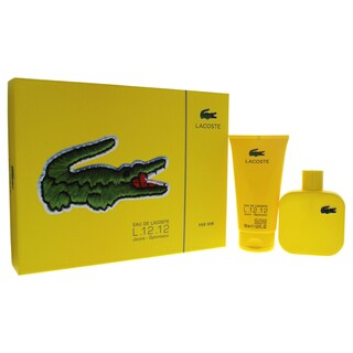 Lacoste Eau de Lactoste L.12.12 Jaune Optimistic Men's 2-piece Gift Set