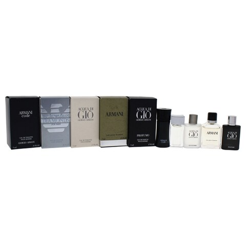 Giorgio Armani Variety Men's 5-piece Mini Gift Set