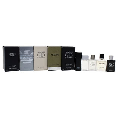Giorgio Armani Variety Men's 5-piece Mini Gift Set