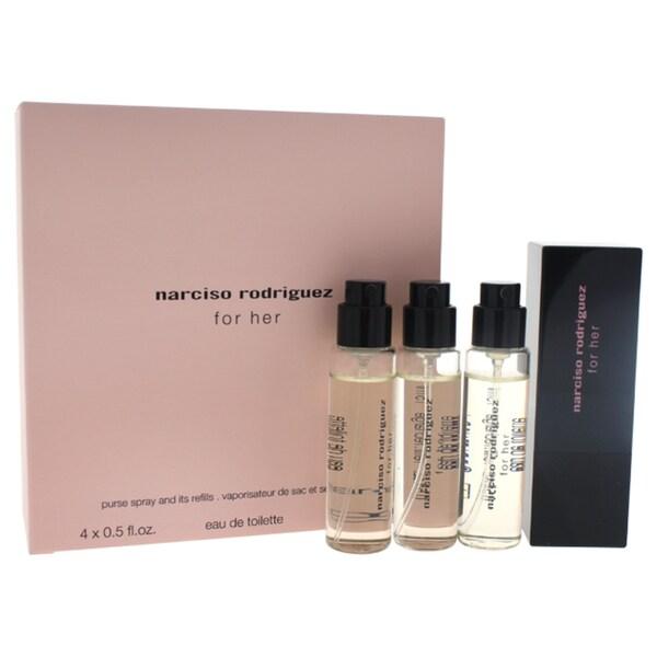 Narciso Rodriguez Miniature Set Women's 5-piece Mini Gift Set ...