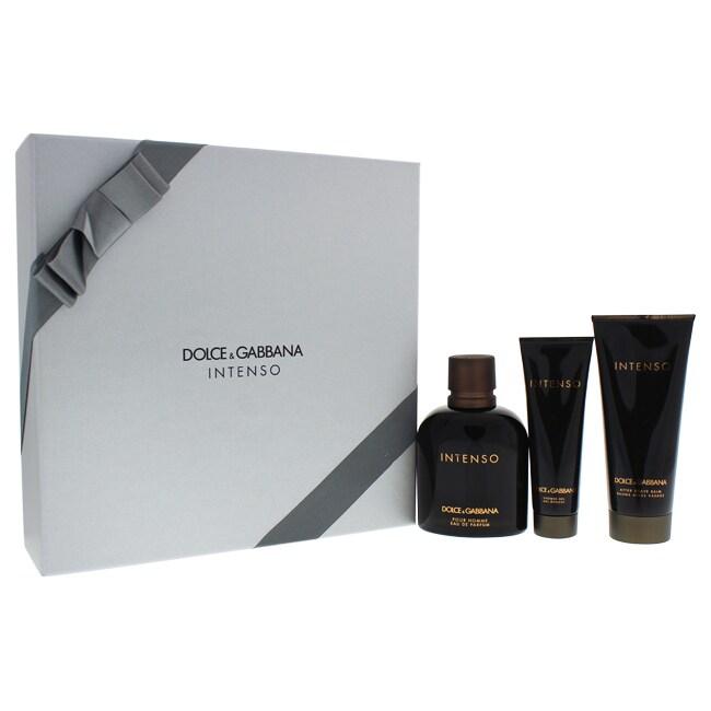 Dolce & Gabbana Intenso Men's 3 piece Gift Set