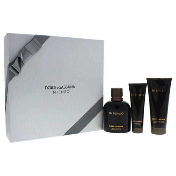 25369d3cc85f Shop Dolce   Gabbana Intenso Men s 3-piece Gift Set - Free Shipping Today -  Overstock - 18212980