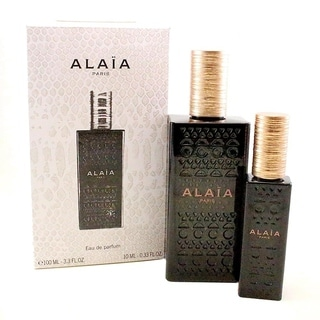 Alaia 2 Pc Gift Set ( Eau De Parfum Spray 3.4 Oz + Eau De Parfum 10 Ml) - N/A