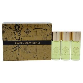Amouage Memoir Travel Spray Men's 3-piece Mini Gift Set
