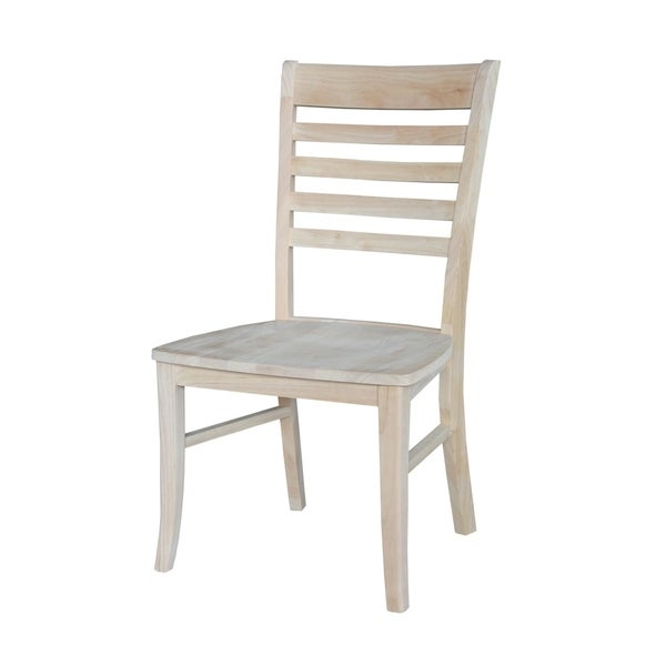 Great International Concepts Roma Ladderback Chair (Set Of 2)