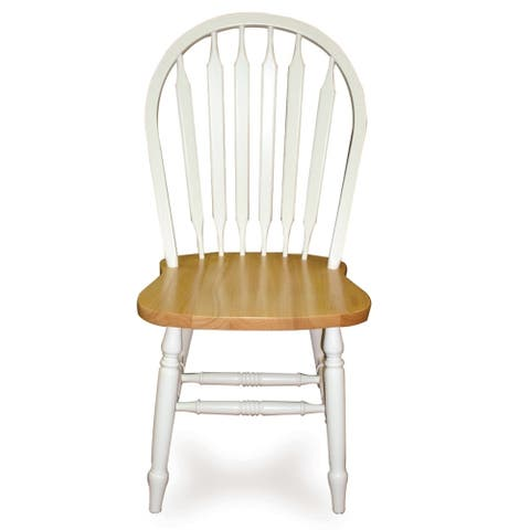International Concepts Windsor High Arrowback Chair with Turned Legs