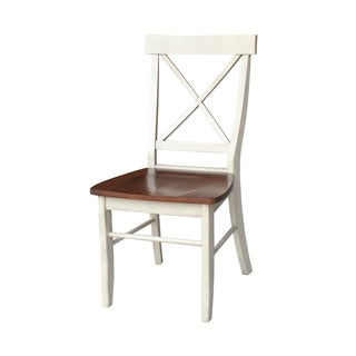 International Concepts X-back Wooden Chairs (Set of 2)