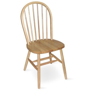 International Concepts Windsor Spindleback Chair with Plain Legs (5 options available)