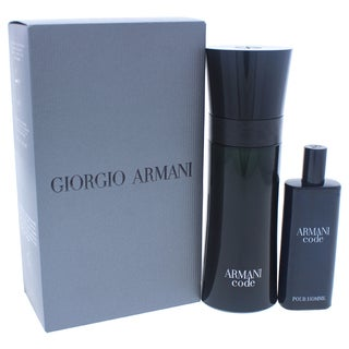 Armani Code Travel Exclusive Men's 2-piece Gift Set