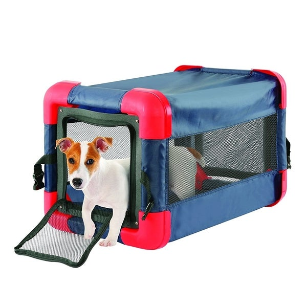 Pop Up Dog Crate For Small Dogs Collapsible Soft Sided