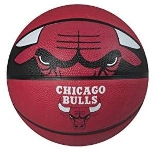 Spalding Chicago Bulls Official Size Basketball