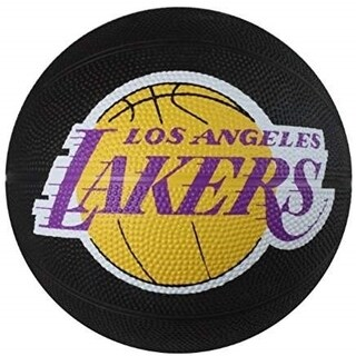 Spalding NBA Mini Los Angeles Lakers Outdoor Rubber Basketball