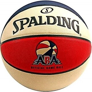 Spalding ABA Official Game Basketball - Official Size 7 (29.5)
