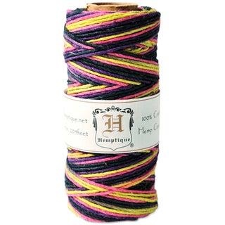 Hemp Variegated Cord Spool 20lb 205'