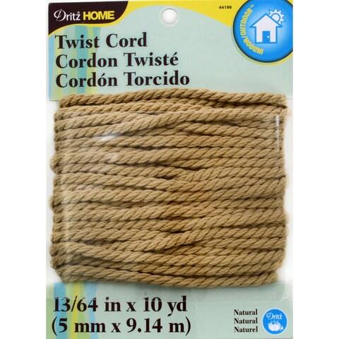 Dritz Home Polyester Twist Cord 5mmx10yd