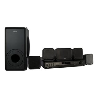 Refurbished RCA 600 Watts Home Theater System-RT2906 - Black