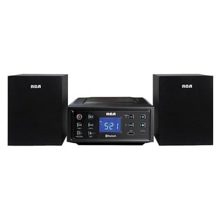 Refurbished RCA CD Mini Shelf Bluetooth System-RS2929B - Black