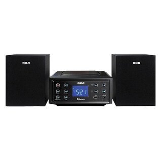 Refurbished RCA CD Mini Shelf Bluetooth System-RS2929B - Black