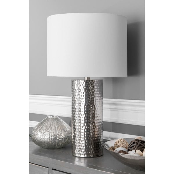 Watch Hill 26-inch Sophie Iron Cotton Shade Table Lamp