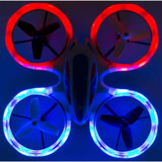 EWONDERWORLD Drone for Kids and Beginners Easy to Fly Sky Patroller Mini Quadcopter with LED Lights  Toy RC Plane
