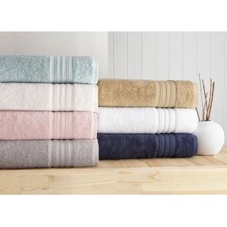 Laural Home 6 Piece Turkish Towel Set- Blush