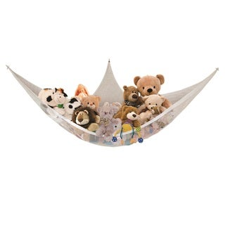 Dreambaby® Jumbo Toy Storage Hammock - White