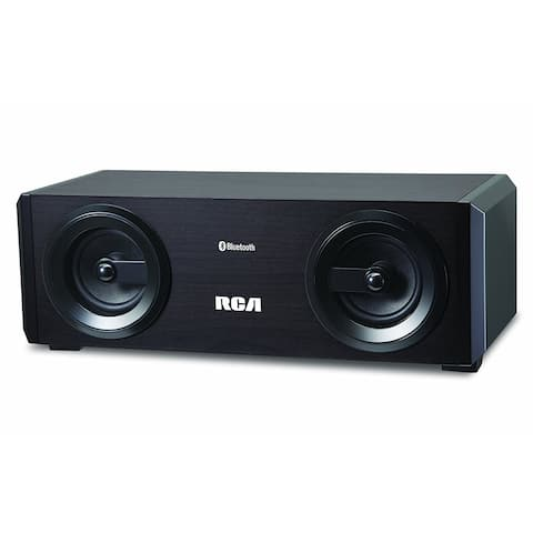 Refurbished RCA Tabletop Bluetooth Speaker with Built-In Subwoofer-RAS2866B2