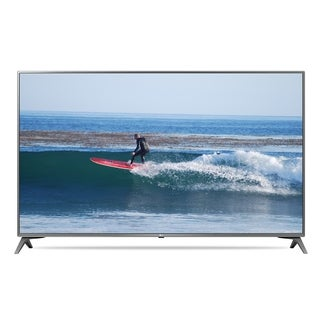 Refurbished LG 49 in 4K SMART UHD HDR LED TV-49UJ6500 - black