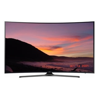 Refurbished Samsung 55 in 4K Curved Smart LED-UN55MU650DFXZA - Black
