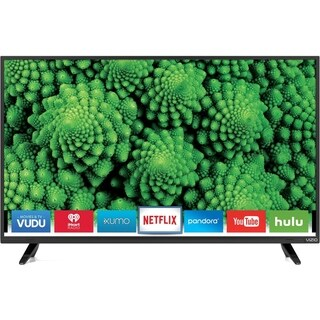 Refurbished Vizio 40 in 1080P SMART LED-D40F-E1 - Black