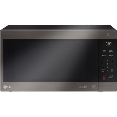 LG LMC2075BD NeoChef 2.0 Cu. Ft. Countertop Microwave in Black Stainless Steel